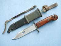 Штык-нож к автомату АКМ и снайперской винтовке СВД