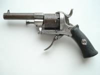 Револьвер системы Лефоше. 19 век
