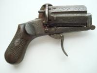 Шестиствольный карманный пистолет «Пепербокс» системы Лефоше. Бельгия 19 век